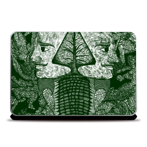 Laptop Skins, Dreams of the Post Apocalyptic Vol. 1.5 Laptop Skins | Artist : Luke's Art Voyage, - PosterGully