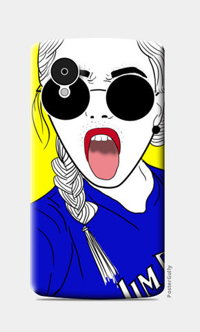Girl swag! Nexus 5 Cases | Artist : DISHA BHANOT