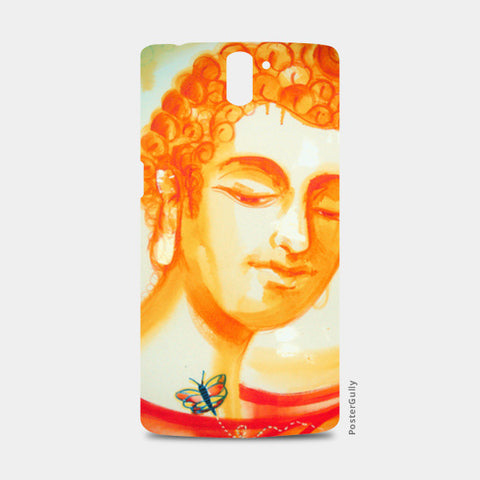 Buddha & Butterfly One Plus One Cases | Artist : Raman Bhardwaj