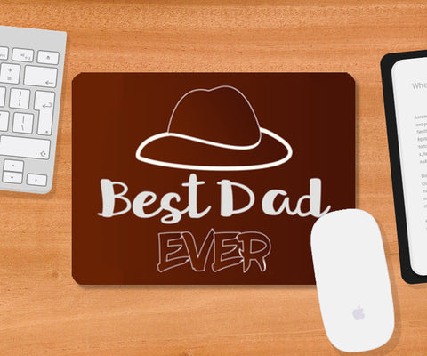 Best Dad | #Father's Day Special   Mousepad | Artist : Creative DJ