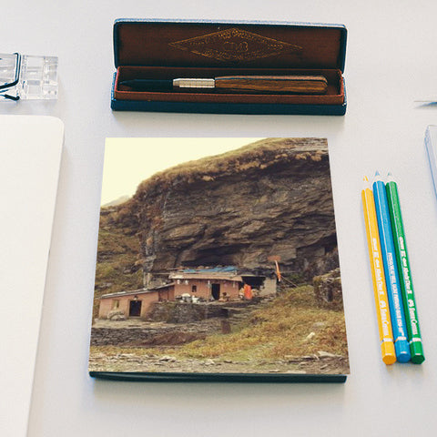 Home in the Himalayas Notebook | Artist : The Storygrapher