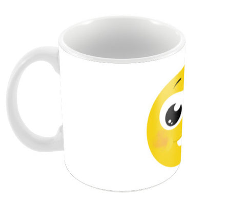 happy face Coffee Mugs | Artist : Monami Debnath