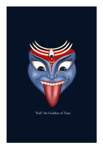 "Wall Art, Kali ""The Goddess of Time"" Wall Art 