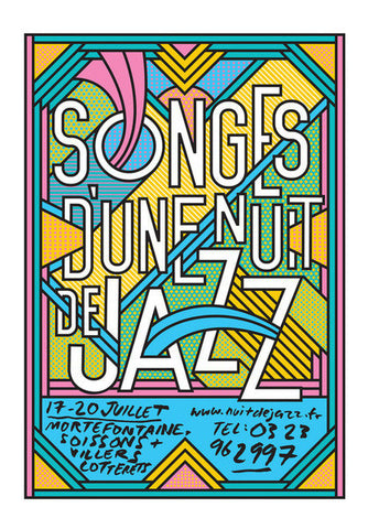 Jazz Music Festival Concert Poster Art PosterGully Specials