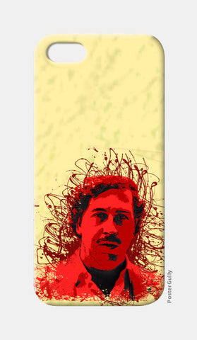 Pablo Escobar iPhone 5 Cases | Artist : desiGuy
