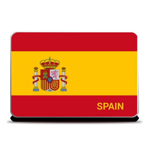 Spain | #Footballfan Laptop Skins | Artist : Creative DJ