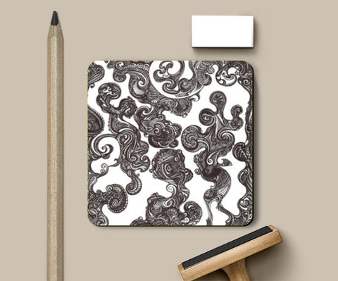 Coasters, Swirly Doodle Coaster Coasters | Artist : Aniruddha De, - PosterGully