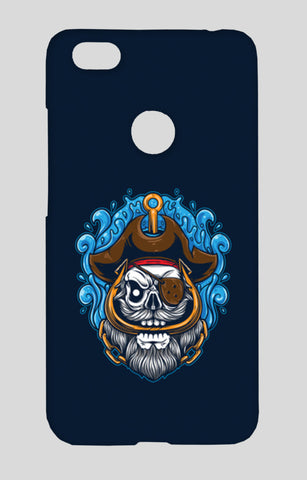 Skull Cartoon Pirate Redmi Note 5A Cases | Artist : Inderpreet Singh