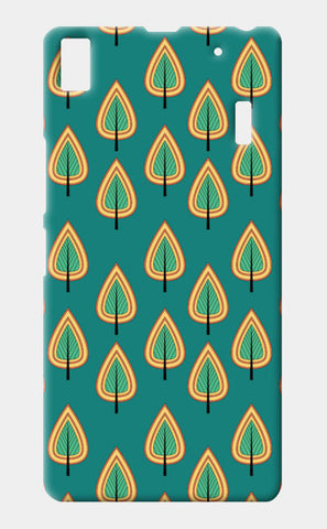 Leaf design pattern Lenovo A7000 Cases | Artist : Designerchennai