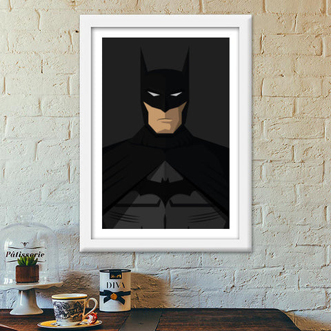 Batman - The Dark Knight Premium Italian Wooden Frames | Artist : Kartikeya Rastogi