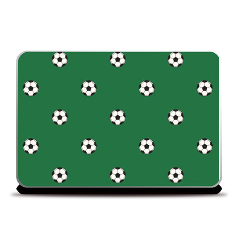 Football Ground With Balls | #Footballfan Laptop Skins | Artist : Creative DJ