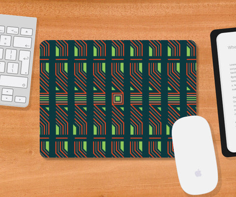 Pattern Digital Pulse Mousepad | Artist : Hardy16_