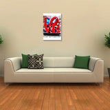 Canvas Art Prints, Love New York Stretched Canvas Print, - PosterGully - 3