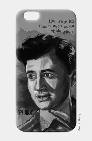 Bollywood-Old is God- Dev Anand iPhone 6/6S Cases | Artist : Raman Bhardwaj