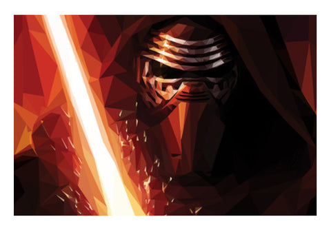 Wall Art, Kylo Ren Wall Art  | Artist : Shashanka Beshra, - PosterGully