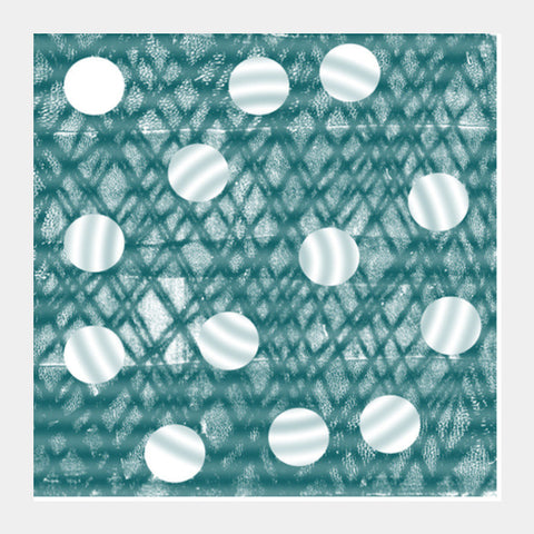 Monoprint Circle Square Art Prints PosterGully Specials