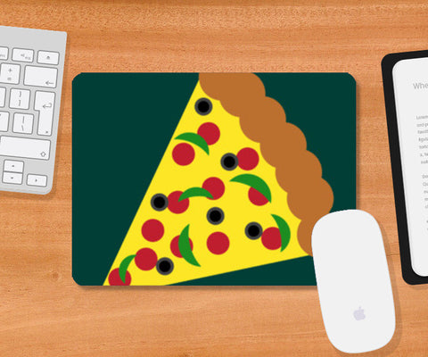 Heart Wants Pizza Mousepad | Artist : Aishwarya Tandon