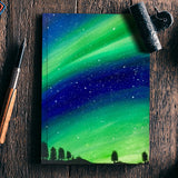 The Northern Lights Notebook | Artist : Akshita Shah