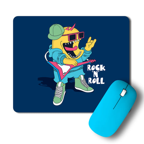 Rock And Roll Pop Art Mousepad