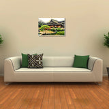 Canvas Art Prints, Lower Bay Stretched Canvas Print, - PosterGully - 3