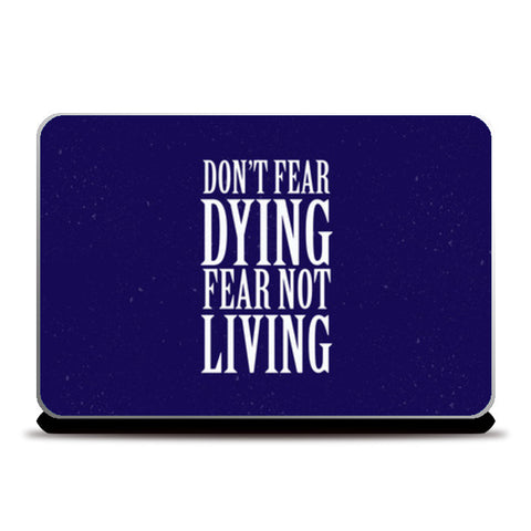 Laptop Skins, Don't Fear Laptop Skins | Artist : Throttlerz Group, - PosterGully