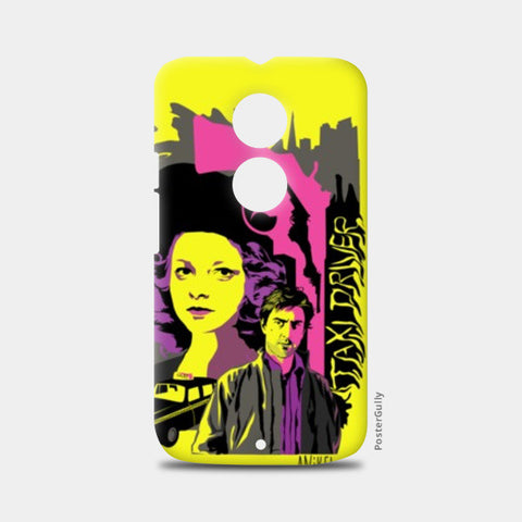 Moto X2 Cases, Taxi Driver yellow pink gray Moto X2 case | Aniket Trivedi, - PosterGully