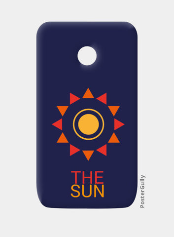 The sun Moto E Cases | Artist : Akash Gutha