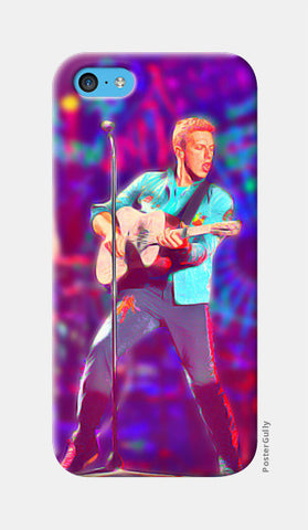 Chris Martin from Coldplay iPhone 5c Cases | Artist : Ayushi Jain