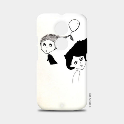 Illustration/cartoon Moto X2 Cases | Artist : Vaishnavi Gajapure