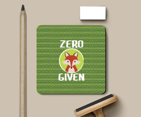 Coasters, Zero Fox Given Coasters | Artist : Random Chinese Friend, - PosterGully