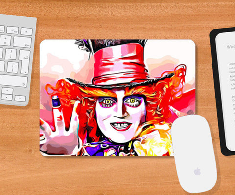 Mad Hatter Mousepad | Artist : Delusion
