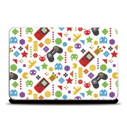 Video Games Laptop Skins | Artist : Colour me expressive