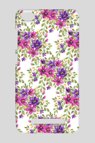 Romantic Pink Purple Blooms Floral Spring Pattern  Redmi 4A Cases | Artist : Seema Hooda
