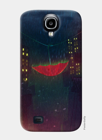 Night Rain Samsung S4 Cases | Artist : Aniket Mitra