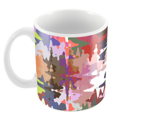 Colorful Chaos Abstract Modern Art Pattern  Coffee Mugs | Artist : Seema Hooda