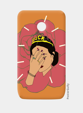 BROWN GIRL Moto E Cases | Artist : Jignesh Waghela