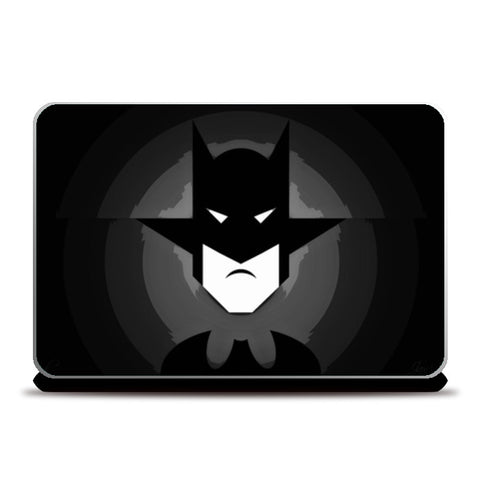 Laptop Skins, Mr. Bat Black Laptop Skins | Artist : Jax D, - PosterGully