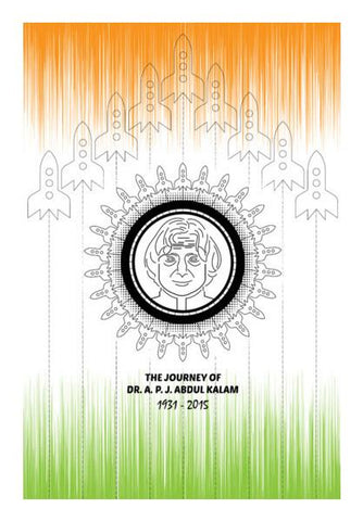 PosterGully Specials, Abdul Kalam Wall Art | Artist : Designerchennai, - PosterGully