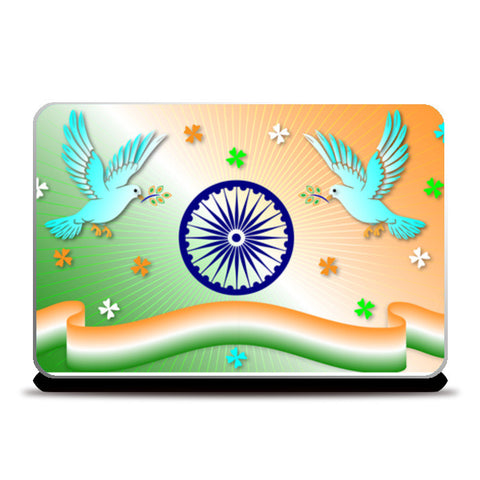 Laptop Skins, Republic Day Laptop Skins | Artist : Madhumita Mukherjee, - PosterGully