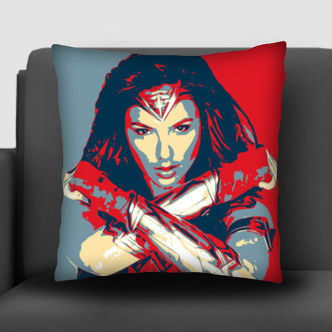Wonder Woman Brave Cushion Covers | Artist : LinearMan