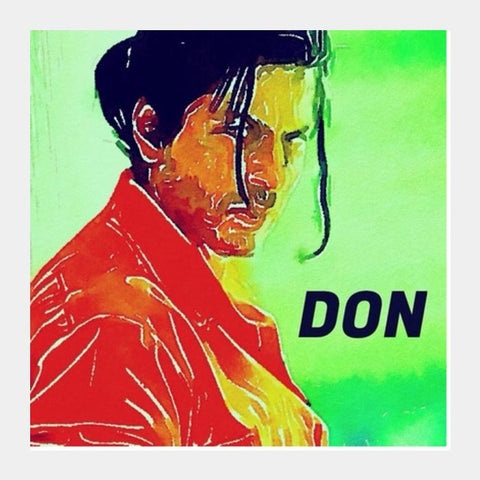 Shahrukh Khan As Don Square Art Prints PosterGully Specials