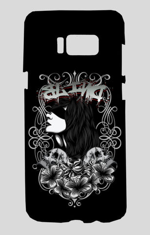 Women With Tattoo Flower Samsung Galaxy S8 Cases | Artist : Inderpreet Singh