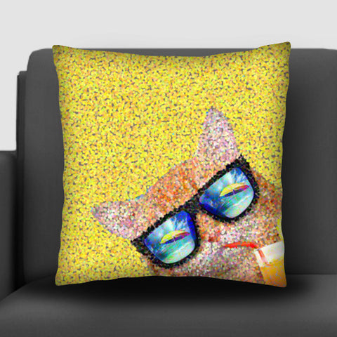 Summer cat Cushion Covers | Artist : Design|A