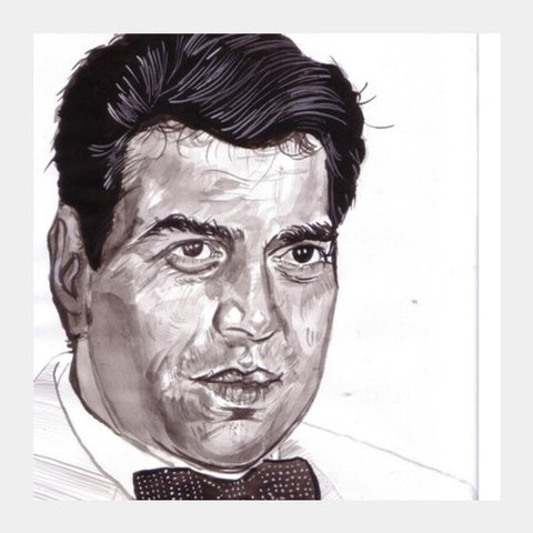 Dharmendra Stood Out In Action Roles Square Art Prints PosterGully Specials