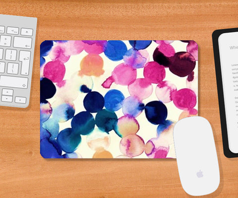 Cool Art Circles Mousepad | Artist : ashman's