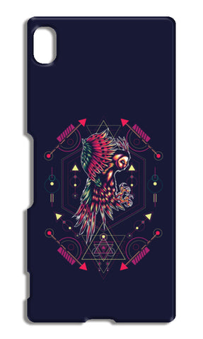 Owl Artwork Sony Xperia Z4 Cases | Artist : Inderpreet Singh