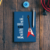 Coffee with Music Notebook | Artist : Manju Nk