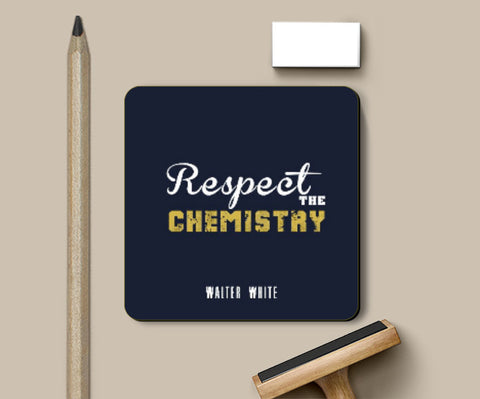 Coasters, Respect The chemistry Coaster | Artist: Prashant Negi, - PosterGully