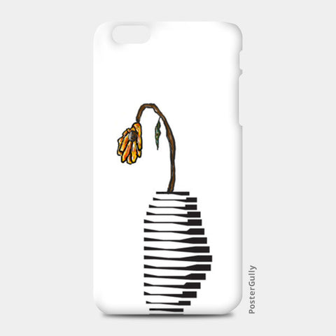 Weak Flower iPhone 6 Plus/6S Plus Case iPhone 6 Plus/6S Plus Cases | Artist : Vedant Sharma