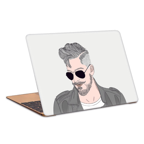 Hot Guy Beard And Sexy Laptop Skin